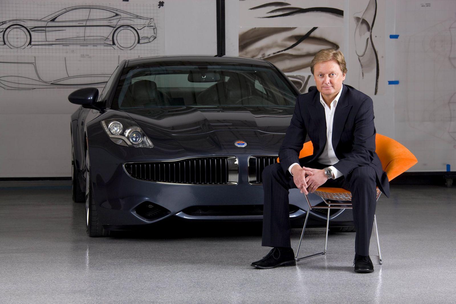 Henrik Fisker, Đồng sáng lập, kiêm CEO Fisker
