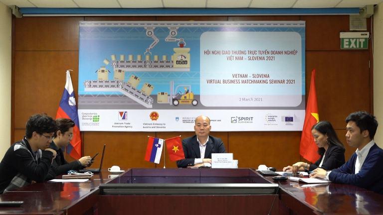 Hội nghị giao thương trực tuyến doanh nghiệp Việt Nam – Slovenia 2021