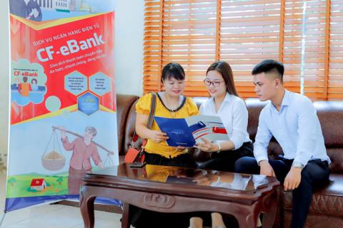 An toàn, thuận tiện, chi phí hợp lý với dịch vụ CF-eBank