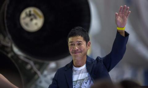 Tỷ phú Nhật mời 8 người ngẫu nhiên đi du hành mặt trăng
