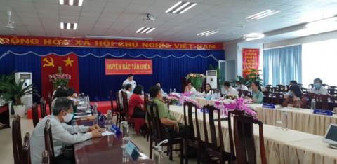 Bình Dương: Thực tế giám sát việc chống dịch Covid 19 tại huyện Bắc Tân Uyên