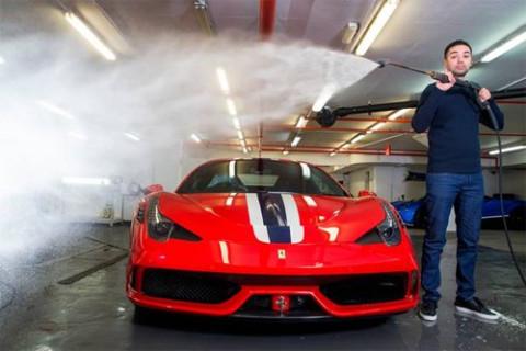 Chuyện lạ: Các siêu doanh nhân chỉ rửa xe cũng hết... 3 tỷ đồng?