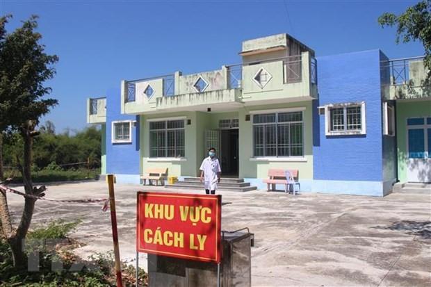 Phòng khám Đa khoa khu vực Ninh Sim, TX.Ninh Hòa, Khánh Hòa được sử dụng làm khu vực cách ly.