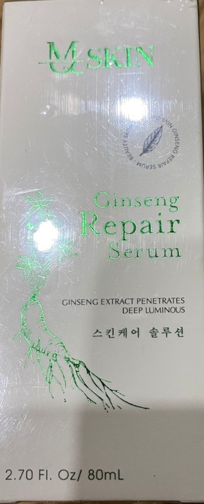 Sản phẩm MQ Skin Ginseng Repair Serum đang lưu thông trên thị trường