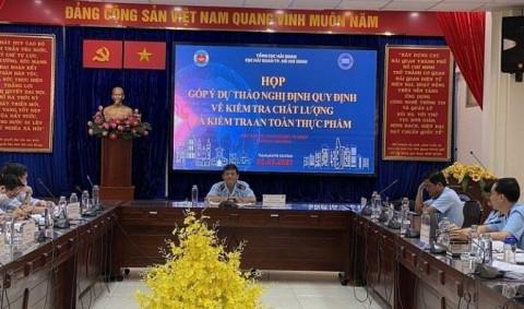 Cục Hải quan Tp Hồ Chí Minh: Họp lấy ý kiến đóng góp dự thảo cùng doanh nghiệp