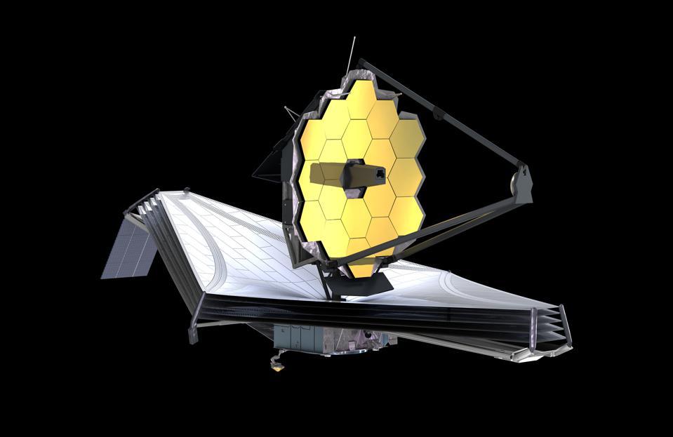 Kính Thiên văn James Webb trông giống như một bông hoa hướng dương khổng lồ.