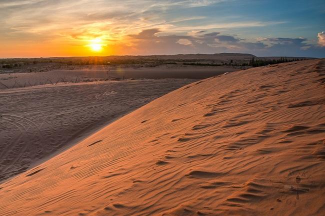 Đồi cát Đỏ tại Mũi Né (nguồn: Internet)