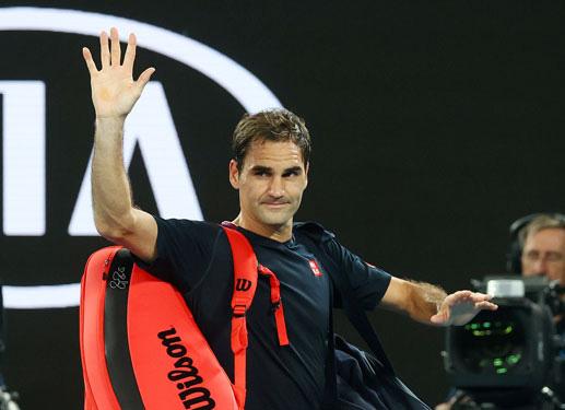 """Roger Federer dự kiến tham dự Qatar Open trước khi bước vào hành trình bảo vệ """"ngôi vương"""" Miami Open 2021. Ảnh: REUTERS"""