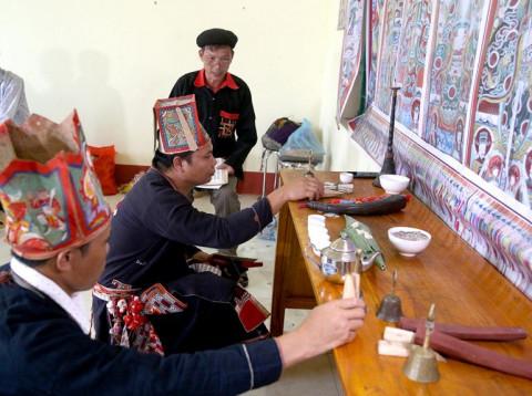 Độc đáo lễ hội cúng tế Bàn Vương của người Dao (Yên Lập - Phú Thọ)