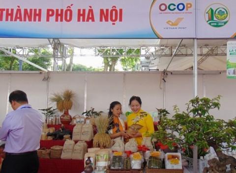 Hà Nội: Tổ chức hội chợ ra mắt sản phẩm làng nghề và OCOP