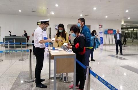 Từ chối soi chiếu an ninh với hành khách chưa khai báo y tế điện tử