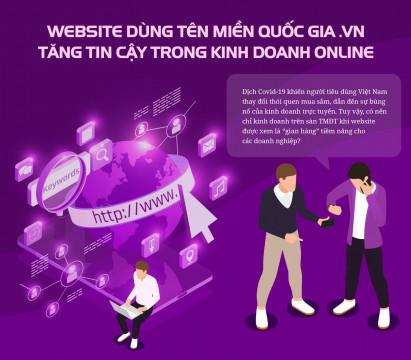 Website - 'gian hàng' tiềm năng kinh doanh online