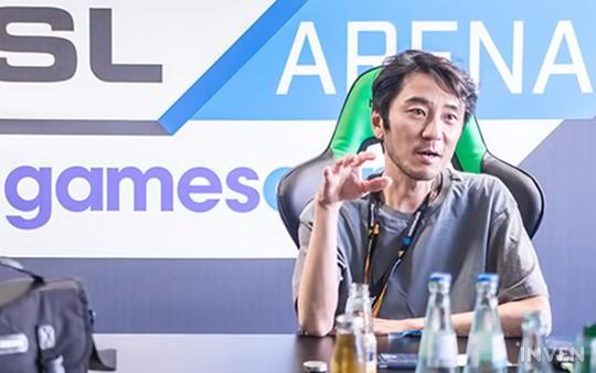 Ông Kim Chang-han, hiện là CEO của Krafton