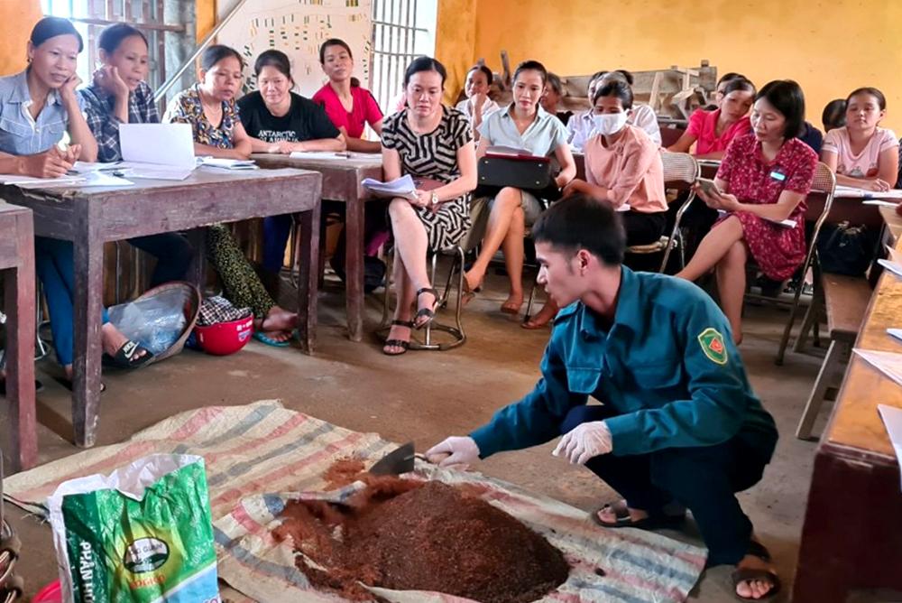 Lớp đào tạo nghề nông nghiệp