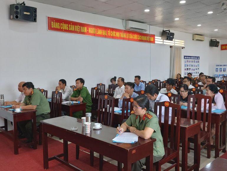 CLB doanh nghiệp đồng hành đảm bảo an ninh, trật tự tại Phú Quốc sơ kết quý I/2021
