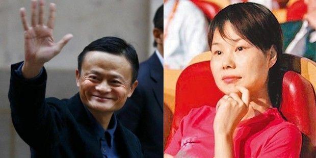 Jack Ma và phu nhân Zhang Ying