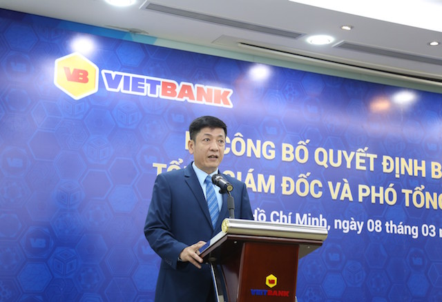 Vietbank chính thức bổ nhiệm ông Lê Huy Dũng giữ chức vụ Tổng giám đốc