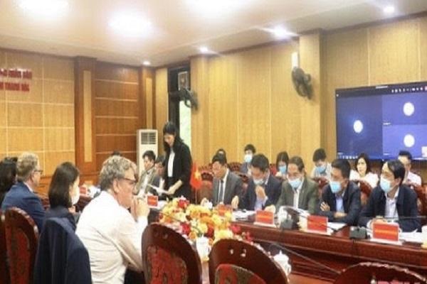 Đan Mạch tìm hiểu, xúc tiến các cơ hội hợp tác với tỉnh Thanh Hoá