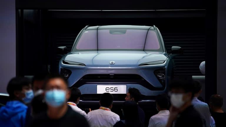 Sự thiếu hụt chip ô tô trên toàn cầu đang ảnh hưởng lớn đến chuỗi cung ứng của Nio và giới hạn năng lực sản xuất của công ty ở mức 7.500 chiếc mỗi tháng thay vì 10.000 chiếc. © Reuters