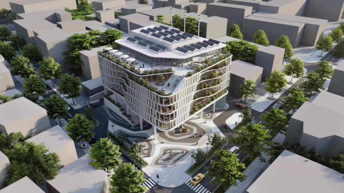Phối cảnh trung tâm khởi nghiệp đổi mới sáng tạo TP HCM sẽ hoàn thành quý 2 năm 2022.