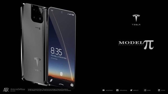 Mẫu smartphone của Tesla