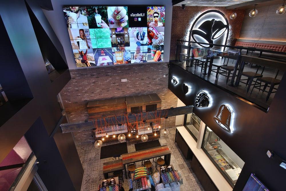Cửa hàng Taco Bell Cantina tại Las Vegas