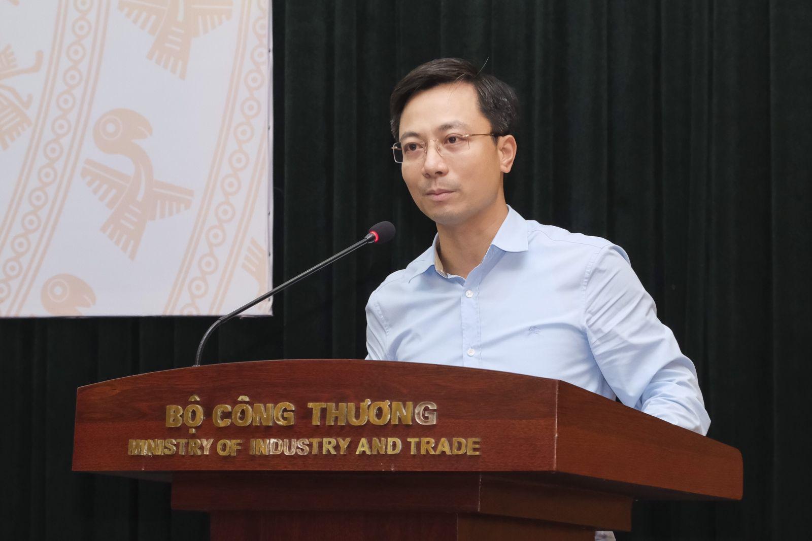 Ông Trần Duy Đông - Vụ trưởng Vụ Thị trường trong nước
