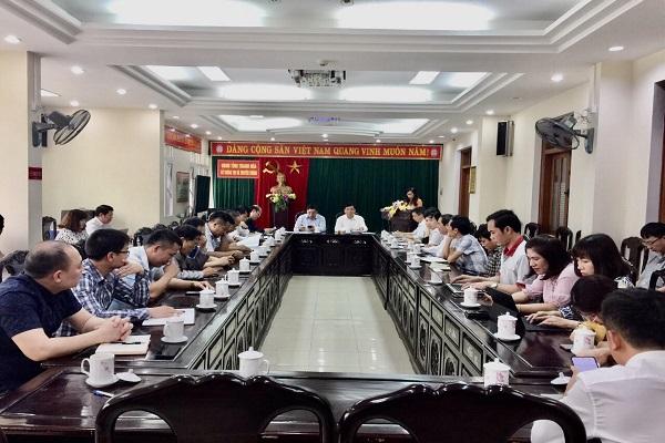 Thanh Hóa: Giao ban công tác Báo chí tháng 3/2021