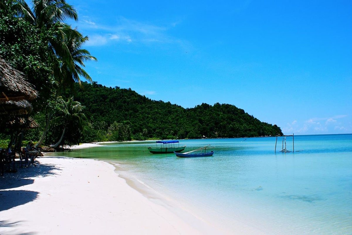 Ảnh: Một bãi biển tại Phú Quốc (nguồn: Internet)