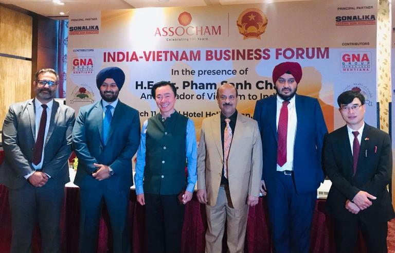 Diễn đàn kinh doanh Việt Nam - Ấn Độ thúc đẩy hợp tác thương mại – đầu tư hai nước