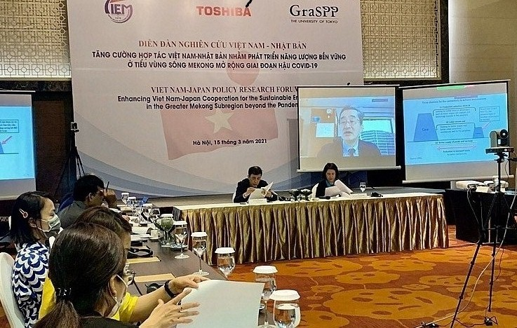 Hợp tác Việt-Nhật phát triển năng lượng bền vững ở tiểu vùng sông Mekong