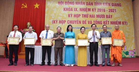 Kiên Giang: HĐND tỉnh Kiên Giang khóa IX hoàn thành tốt chức năng, nhiệm vụ theo quy định