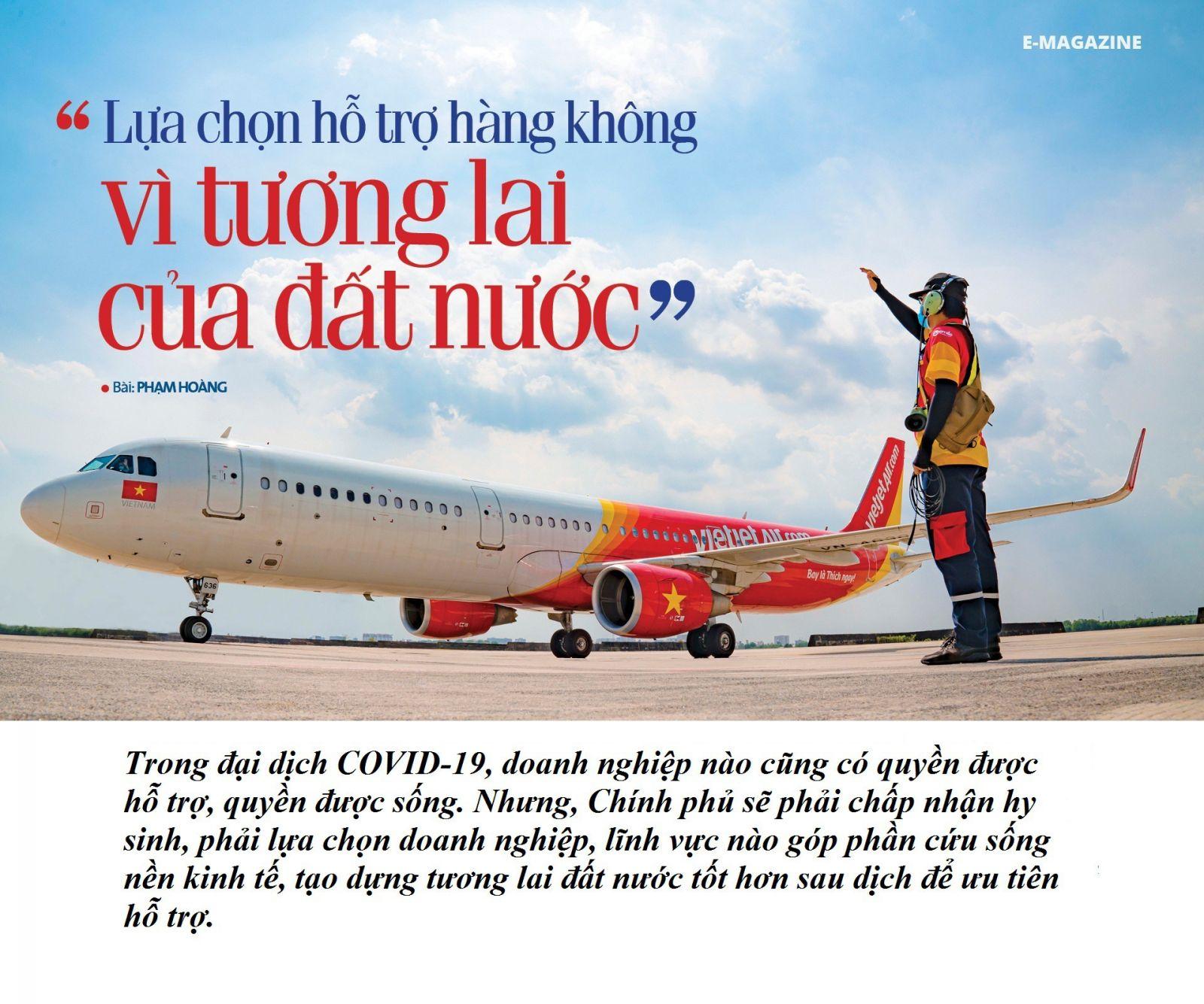 Lựa chọn hỗ trợ hàng không vì tương lai của đất nước