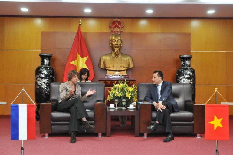 Thứ trưởng Đặng Hoàng An tiếp Đại sứ Hà Lan tại Việt Nam