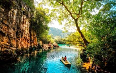 Quảng Bình: Tuyệt tác Sông Chày – Hang Tối giữa lòng di sản Phong Nha