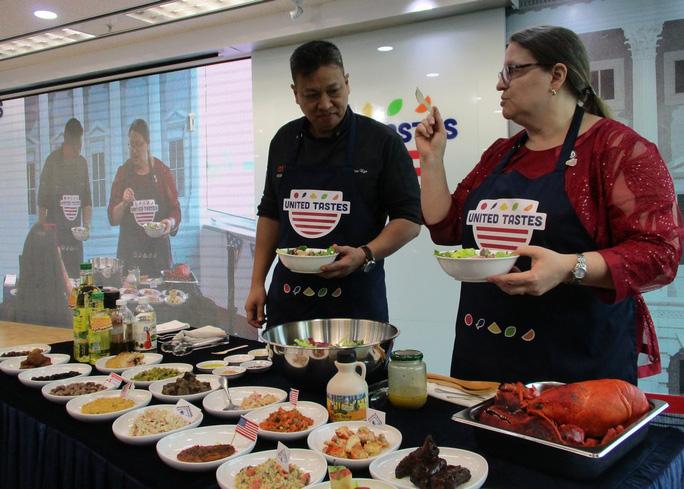 Chương trình United Tastes quảng bá nông sản Mỹ tại Việt Nam