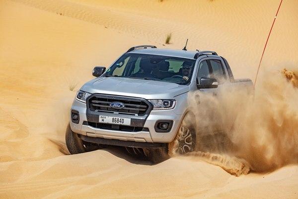 Thử thách Ford Ranger tại một trong những địa điểm nóng nhất hành tinh