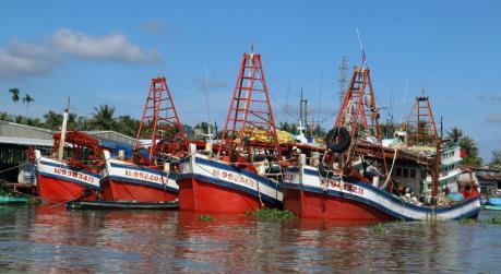 Kiên Giang: Xử lý các vấn đề liên quan đến thiết bị giám sát hành trình tàu cá