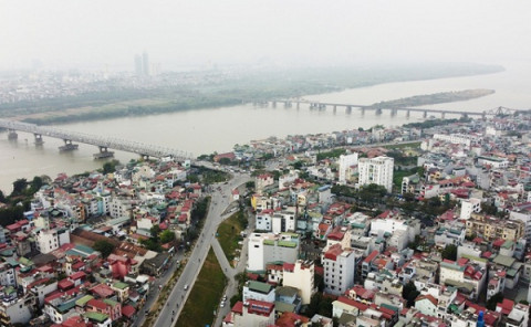 Chưa công bố quy hoạch phân khu sông Hồng, giá đất đã lên cơn sốt