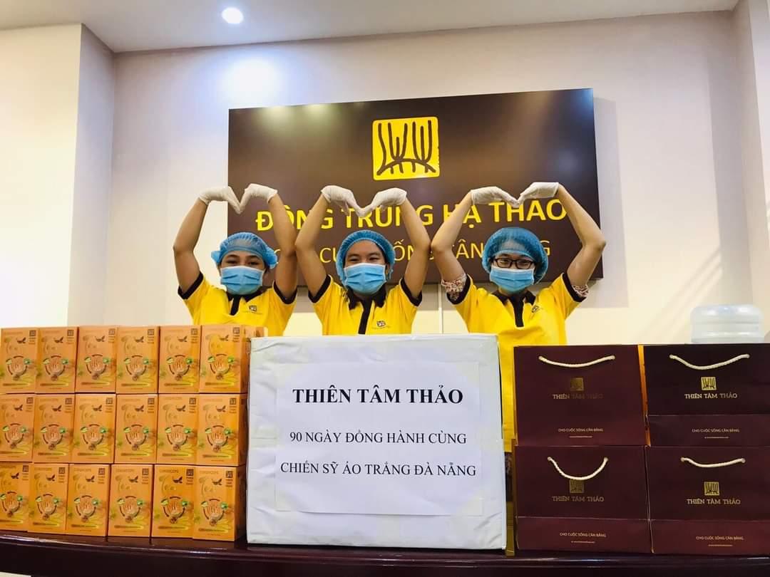 Không chỉ khởi nghiệp thành công, tạo ra việc làm cho hàng chục lao động, thời gian qua, doanh nhân Trần Thoa và Công ty TNHH Thiên Tâm Thảo còn có nhiều hoạt động trợ giúp cho cộng đồng xã hội.