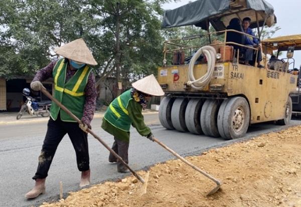 Hà Tĩnh: Đường lên ngã ba Đồng Lộc huyền thoại đang được nâng cấp với tổng mức đầu tư 28 tỷ đồng