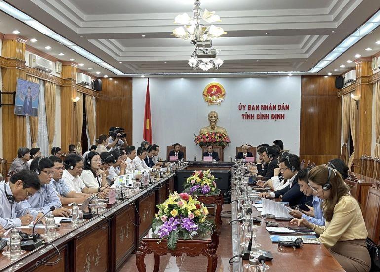 Đẩy mạnh hợp tác giữa các doanh nghiệp của tỉnh Bình Định và Hàn Quốc trong việc mở rộng kinh doanh