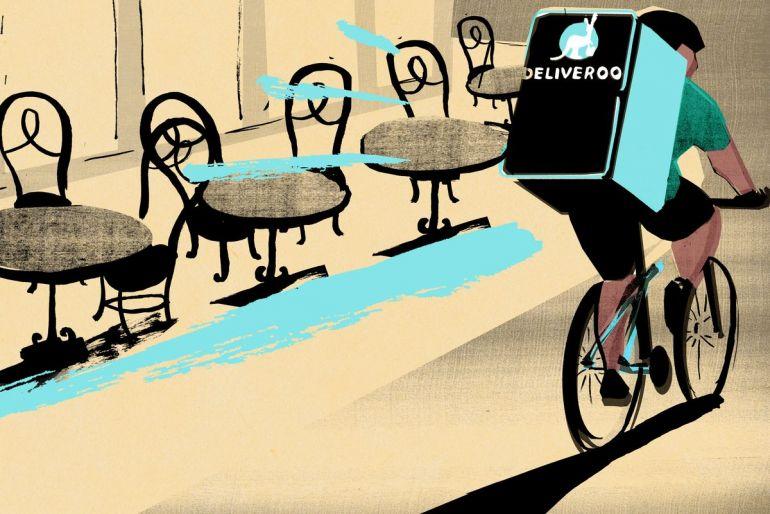 Deliveroo ra mắt đợt IPO lớn nhất ở London trong vòng một thập kỷ