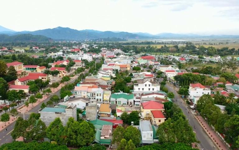 Thị trấn Liên Sơn, huyện Lắk đang từng ngày đổi mới