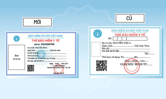 6 điểm khác biệt của thẻ BHYT mẫu mới