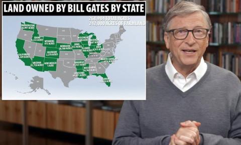 Lý do mua đất kỷ lục của tỉ phú Bill Gates