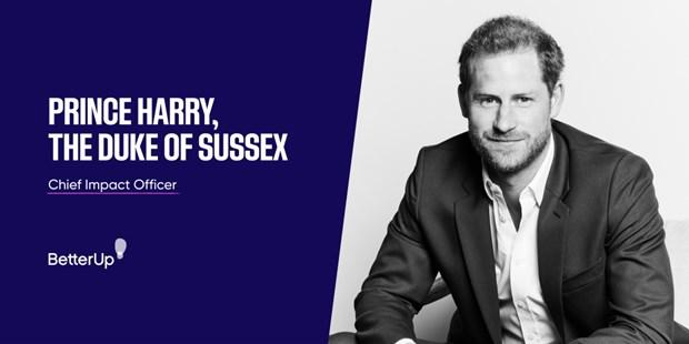 Hoàng tử Harry tham gia công ty khởi nghiệp chăm sóc sức khỏe ở Thung lũng Silicon