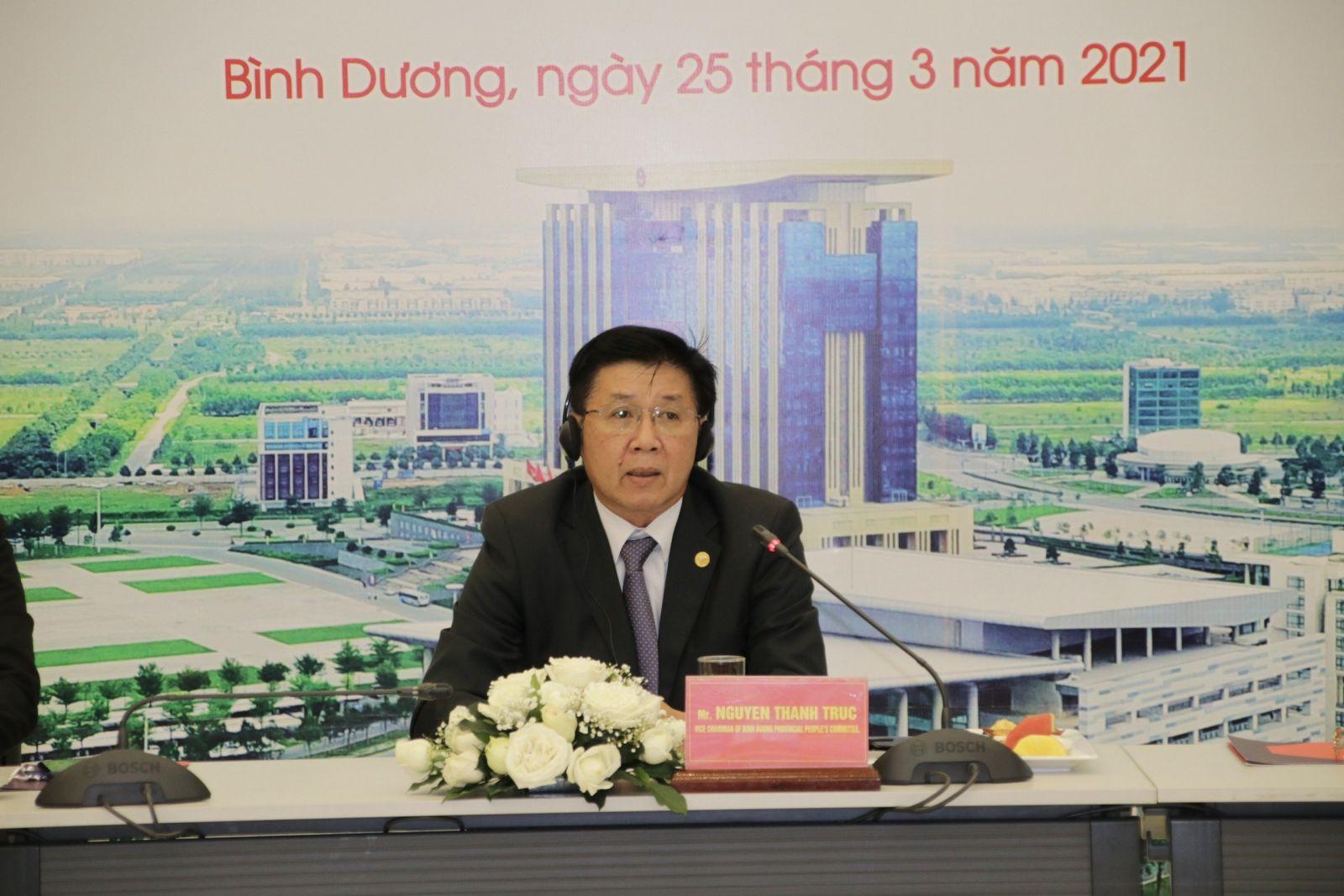 Ông Nguyễn Thanh Trúc - Phó chủ tịch UBND tỉnh Bình Dương
