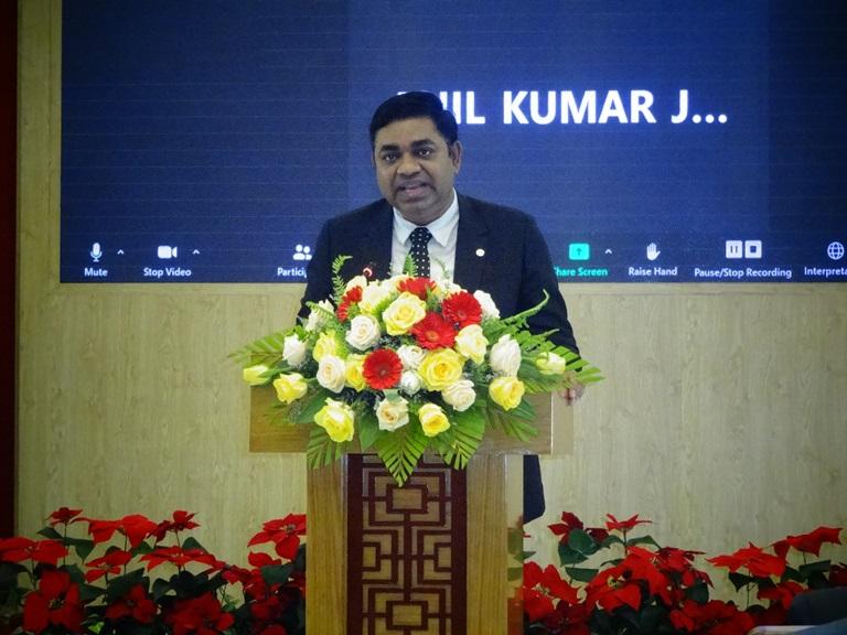 Hội thảo trực tuyến xúc tiến hợp tác Khánh Hòa - Ấn Độ
