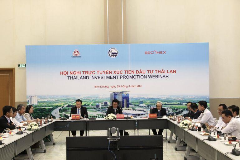 Bình Dương tổ chức hội nghị trực tuyến xúc tiến đầu tư Thái Lan